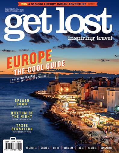 get lost Travel Magazine (AU) cover