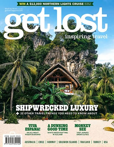get lost Travel Magazine (AU) cover