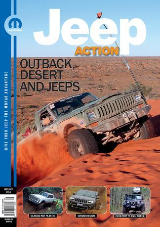 Jeep Action Magazine (AU) cover