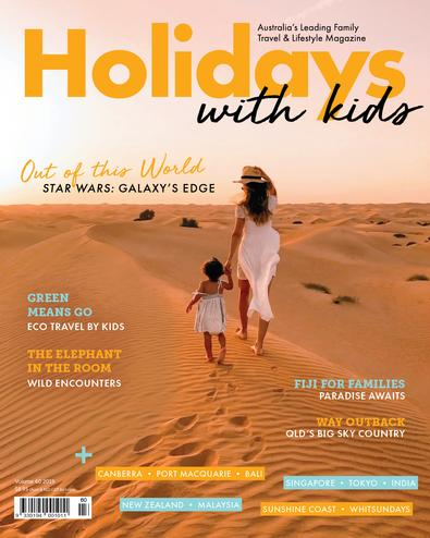 Holidays with Kids (AU) magazine cover