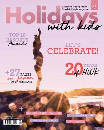Holidays with Kids (AU) magazine cover