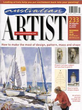 Australian Artist (AU) magazine cover