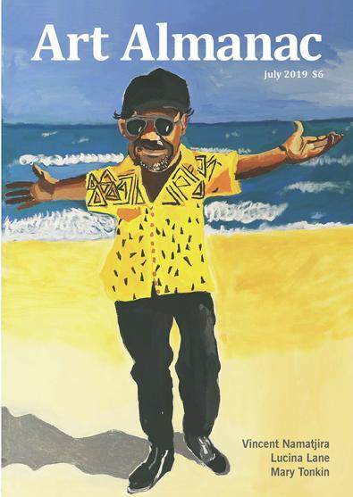 Art Almanac the Australian gallery guide (AU) magazine cover