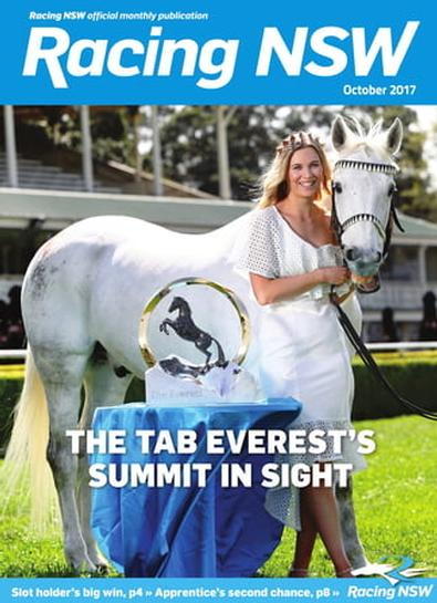 Racing NSW (AU) magazine cover