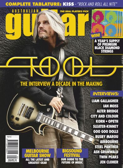 Australian Guitar (AU) magazine cover