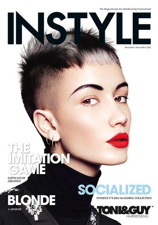 INSTYLE - for the Hairdressing Professional (AU) magazine cover