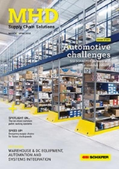 MHD Supply Chain Solutions (AU) magazine cover