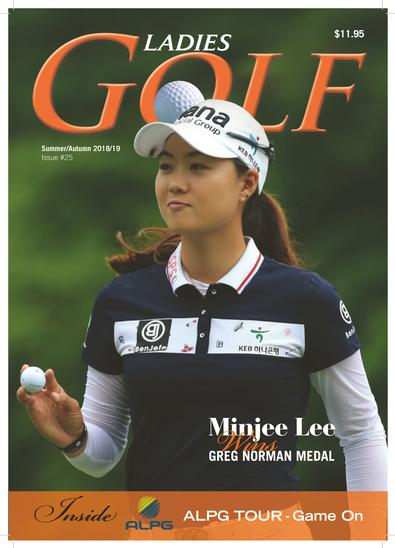 Ladies GOLF (AU) magazine cover