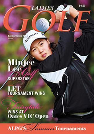 Ladies GOLF (AU) magazine cover