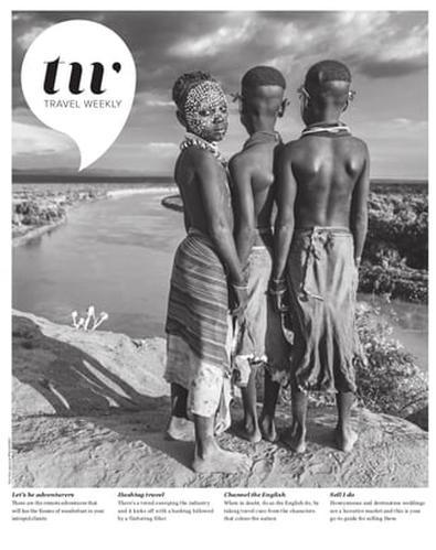 Travel Weekly (AU) magazine cover