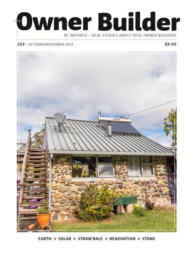 The Owner Builder (AU) magazine cover