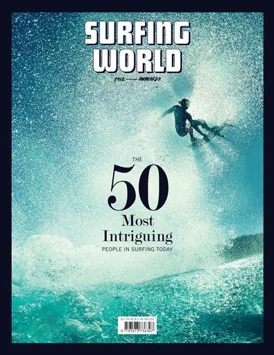 Surfing World (AU) magazine cover