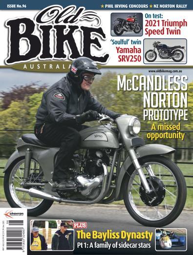 Old Bike Australasia (AU) magazine cover