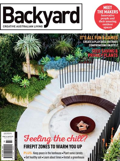 Backyard (AU) magazine cover