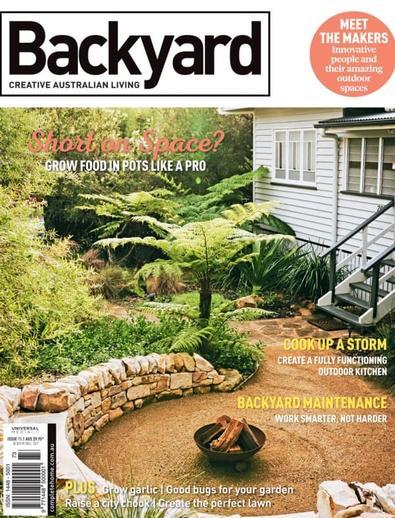 Backyard (AU) magazine cover