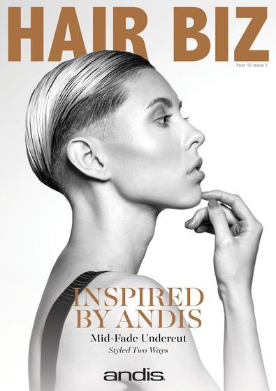 Hair Biz (AU) magazine cover