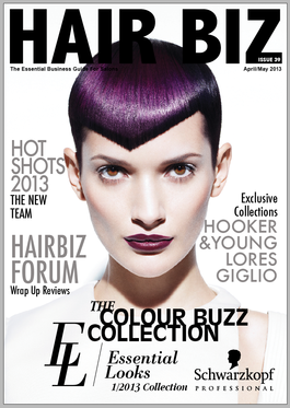 Hair Biz (AU) magazine cover