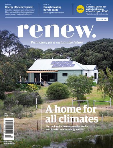 ReNew: Technology for a Sustainable Future (AU) magazine cover