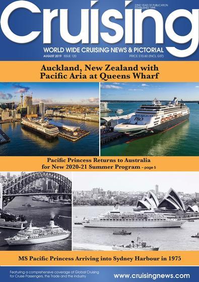 Cruising News (AU) magazine cover