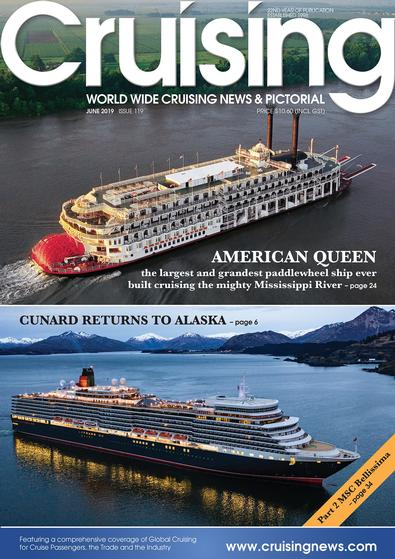 Cruising News (AU) magazine cover