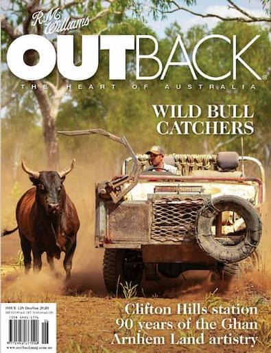 R.M. Williams OUTBACK Magazine (AU) cover