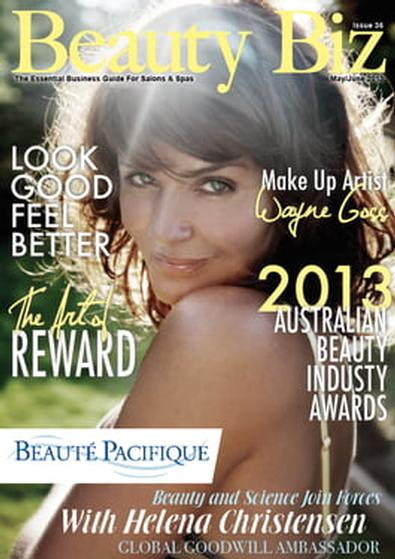 Beauty Biz (AU) magazine cover