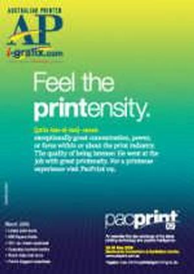 Australian Printer (AU) magazine cover