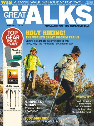 Great Walks (AU) magazine cover