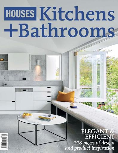 Houses Kitchens + Bathrooms (AU) magazine cover