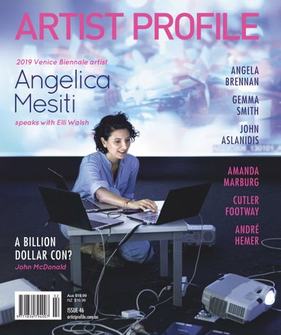 Artist Profile (AU) magazine cover