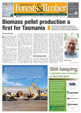 Australian Forests & Timber (AU) magazine cover