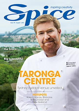Spice - Main Event (AU) magazine cover