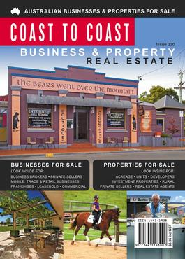 Coast to Coast Business & Property Advertiser (AU) magazine cover