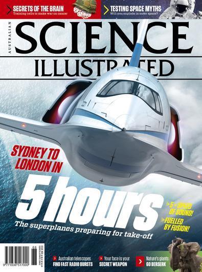 Science Illustrated (AU) magazine cover