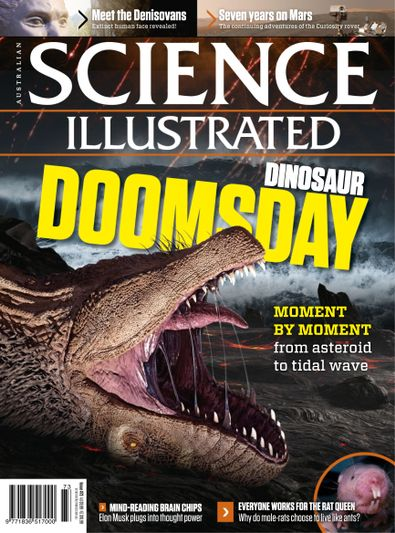 Science Illustrated (AU) magazine cover