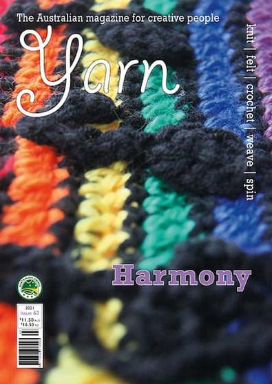 YARN Magazine (AU) cover