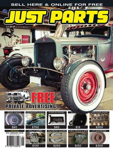 Just Parts (AU) magazine cover