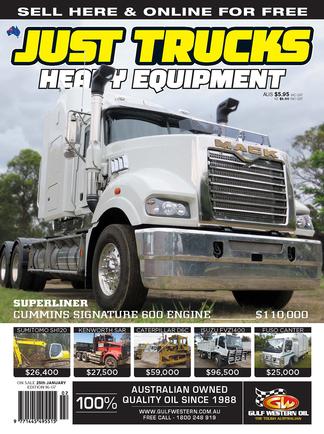 Just Trucks & Heavy Equipment (AU) magazine cover