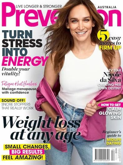 Prevention (AU) magazine cover