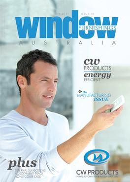 Window Furnishings Australia Magazine (AU) cover