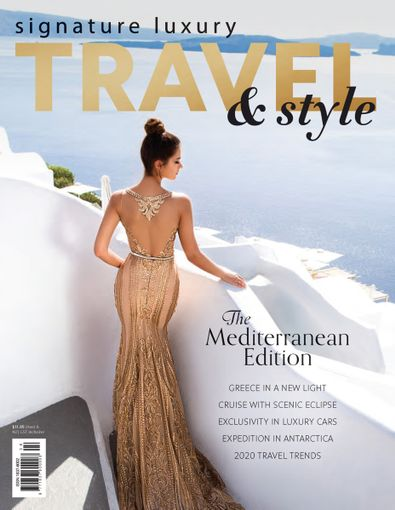 Signature Luxury Travel & Style (AU) magazine cover