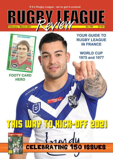 Rugby League Review (AU) magazine cover
