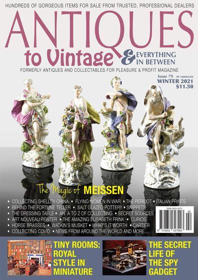 Antiques & Collectables for Pleasure & Profit (AU) magazine cover