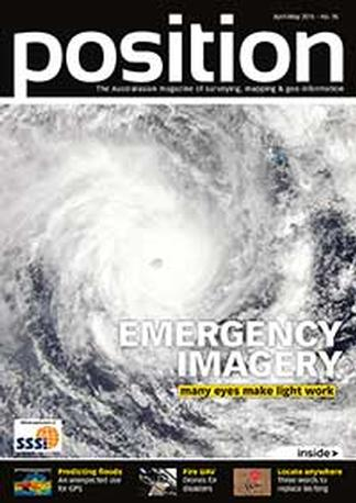 Position (AU) magazine cover