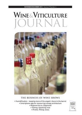 Wine & Viticulture Journal (AU) magazine cover