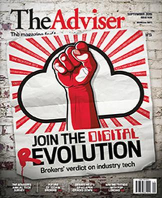 The Adviser (AU) magazine cover