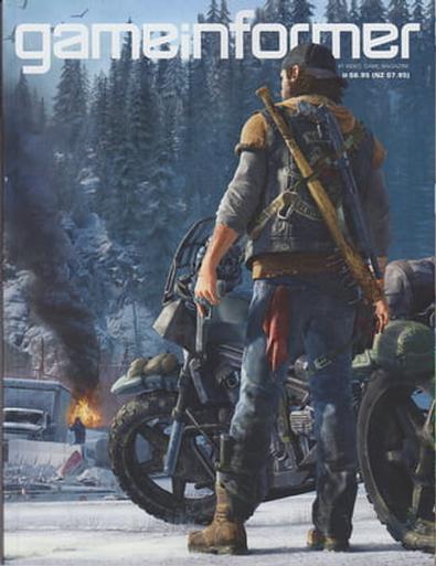 Game Informer (AU) magazine cover