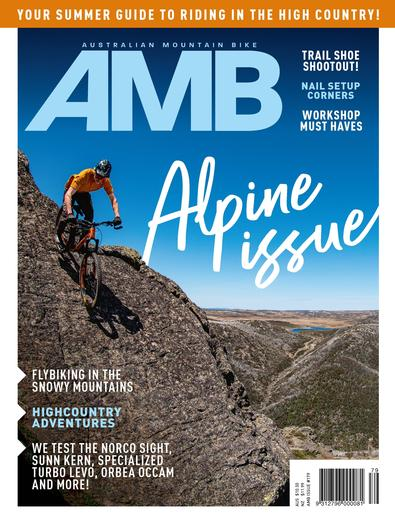 Australian Mountain Bike (AU) magazine cover