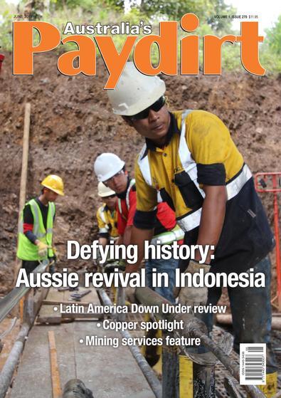 Australia's Paydirt (AU) magazine cover