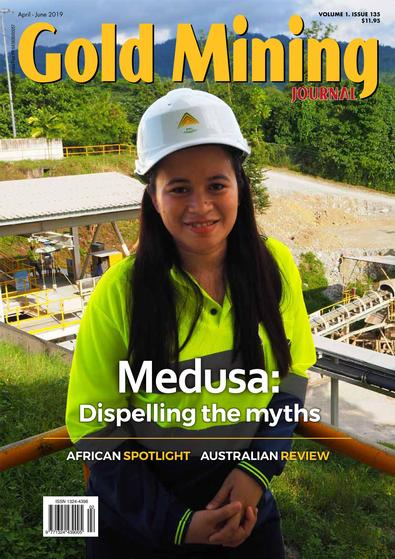 Gold Mining Journal (AU) magazine cover